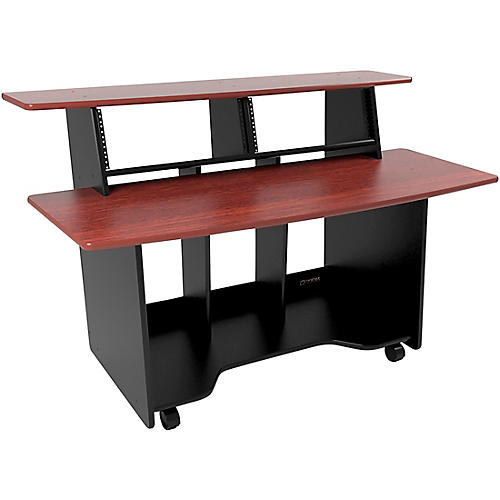 Omnirax Presto Studio Desk Mahogany