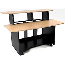 Omnirax Presto Studio Desk Maple