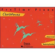 Faber Piano Adventures Pretime Piano Christmas Primer Level Beginning Reading - Faber Piano