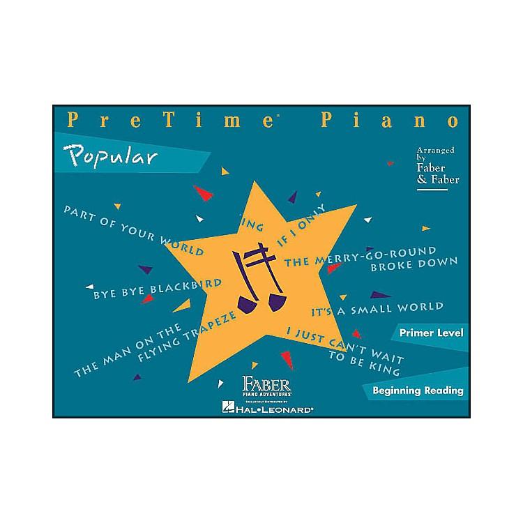 Faber MusicPretime Popular Primer/Beginning Reading