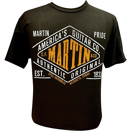Martin Pride Authentic T-Shirt Black Large
