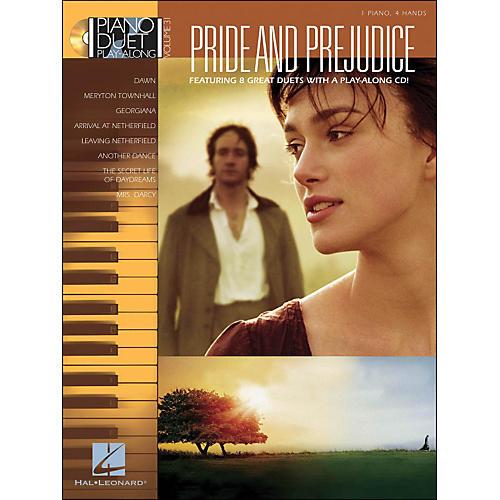 Hal Leonard Pride & Prejudice - Piano Duet Play-Along Volume 31 (CD/Pkg)-thumbnail