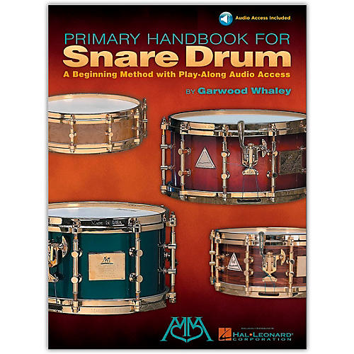 Hal Leonard Primary Handbook for Snare Drum (Book/Online Audio)-thumbnail