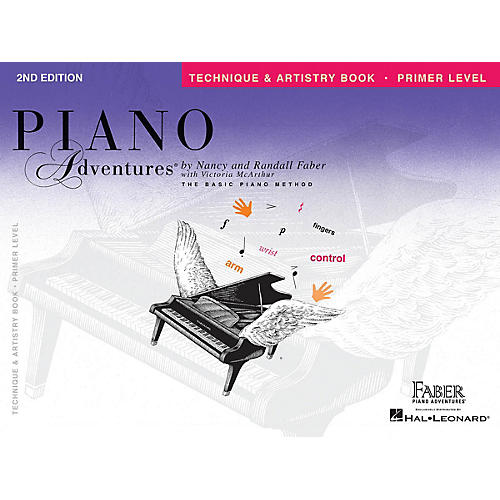 Faber Piano Adventures Primer Level - Technique & Artistry Book - Original Edition Faber Piano Adventures Book by Nancy Faber-thumbnail