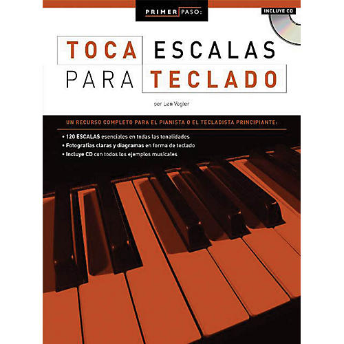 Music Sales Primer Paso: Toca Escalas Para Teclado Music Sales America Series Softcover with CD Written by Len Vogler-thumbnail