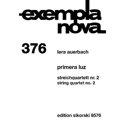 Sikorski Primera Luz (The First Light) String Ensemble Series Composed by Lera Auerbach-thumbnail