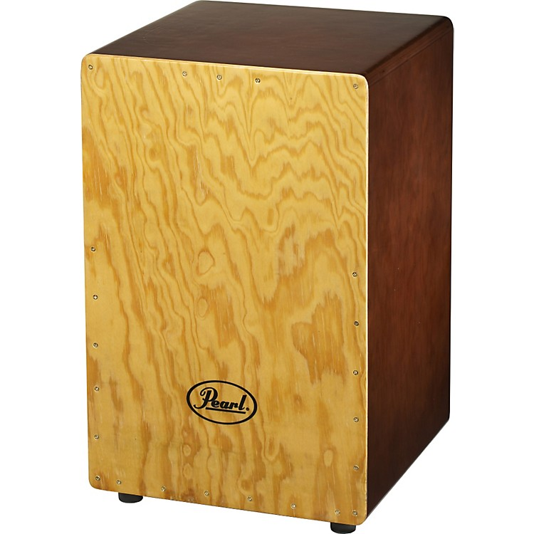 Pearl Primero Wood Box Cajon Gypsy Brown
