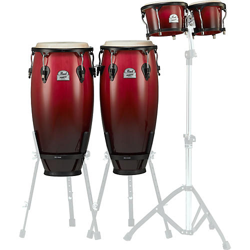 Pearl Primero Wood Conga and Bongo Package