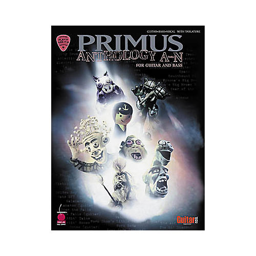 Hal Leonard Primus Anthology A-N Guitar & Bass Tab Book