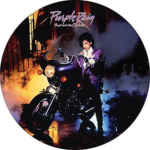 Alliance Prince - Purple Rain (Picture Disc)
