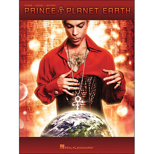 Hal Leonard Prince Planet Earth arranged for piano, vocal, and guitar (P/V/G)-thumbnail