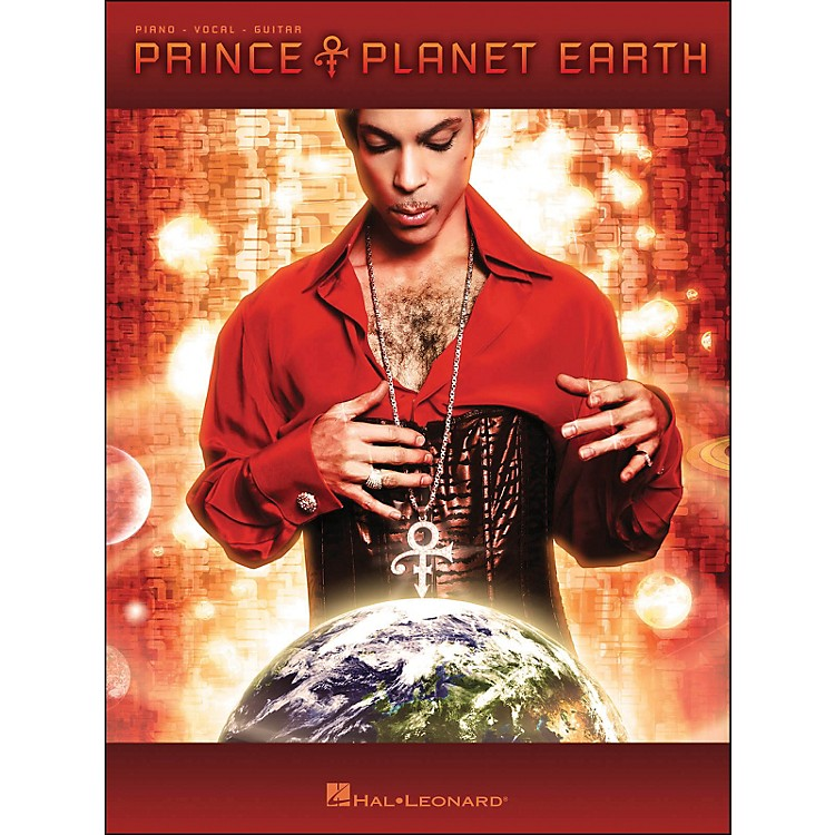 Hal Leonard Prince Planet Earth arranged for piano, vocal, and guitar (P/V/G)