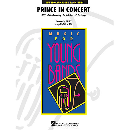 Hal Leonard Prince in Concert - Young Concert Band Series Level 3 arranged by Paul Murtha-thumbnail