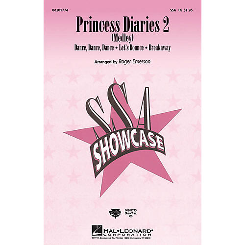 Hal Leonard Princess Diaries 2 (Medley) ShowTrax CD Arranged by Roger Emerson-thumbnail