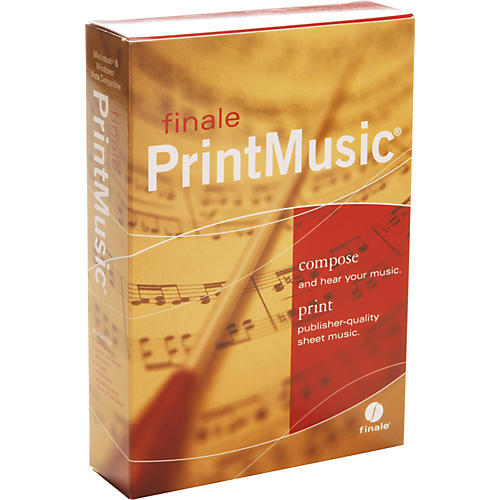 Finale PrintMusic 2009 Retail-thumbnail