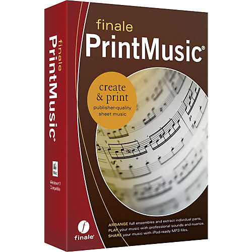 Finale PrintMusic 2011 Retail