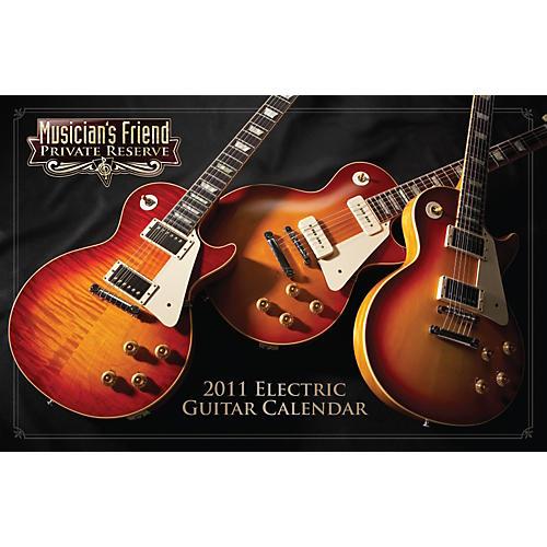 Musician's Friend Private Reserve 2011 Deluxe Wall Calendar