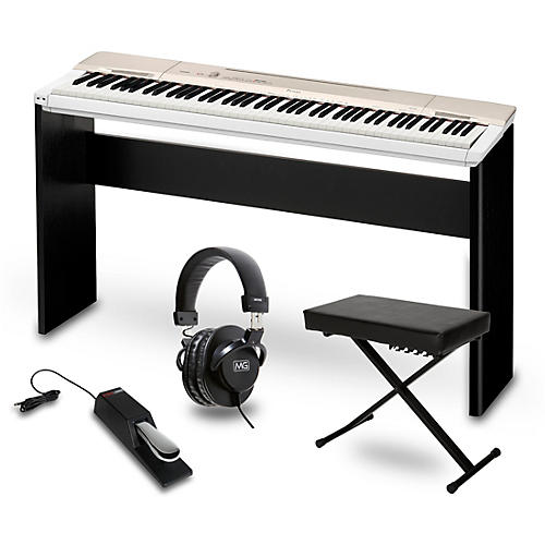 Casio privia px 160gd digital piano with cs 67 stand sustain pedal deluxe keyboard bench and Keyboard stand and bench