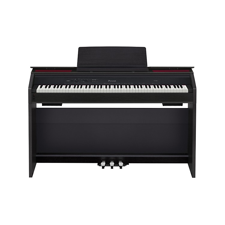 Casio Privia PX-850 88 Weighted-Key Digital Piano Black