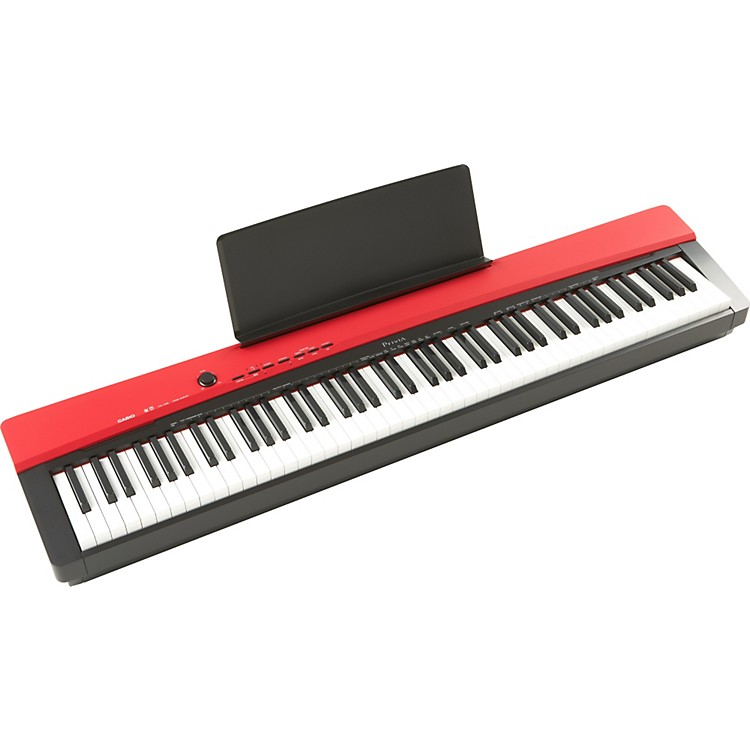 Casio Privia PX130 88-Key Digital Keyboard - Red