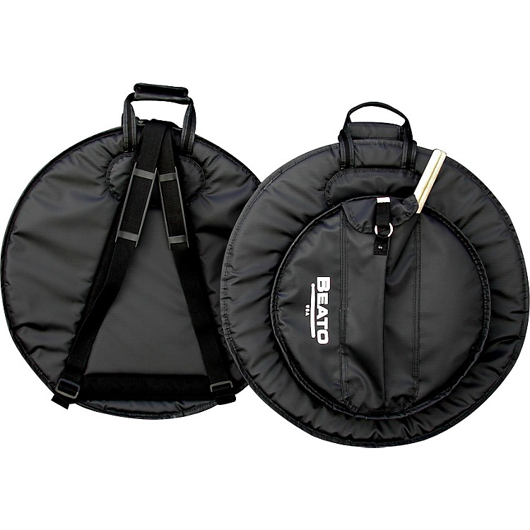 Beato Pro 1 Deluxe Cymbal Bag with Backpack Straps