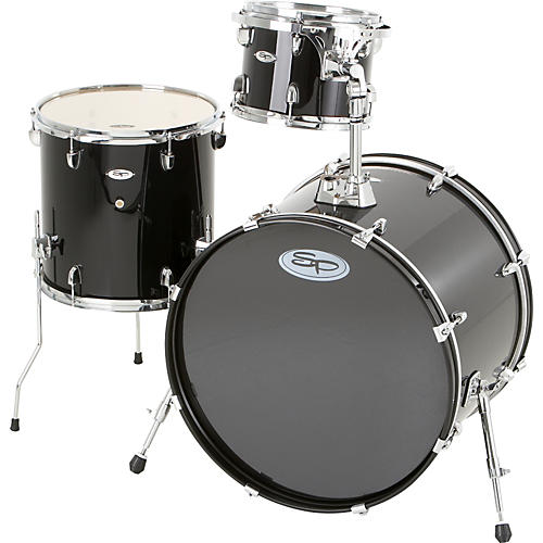 Sound Percussion Labs Pro 3-Piece Double Bass Add-On Pack (Chrome Hoops and Lugs)