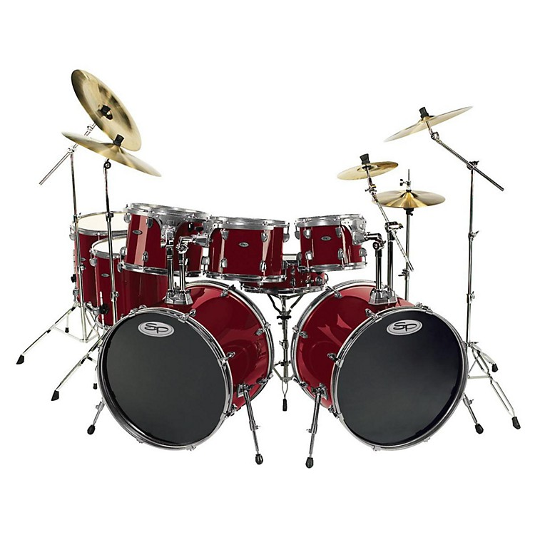 Sound Percussion Pro 8-piece Double Bass Drum Set