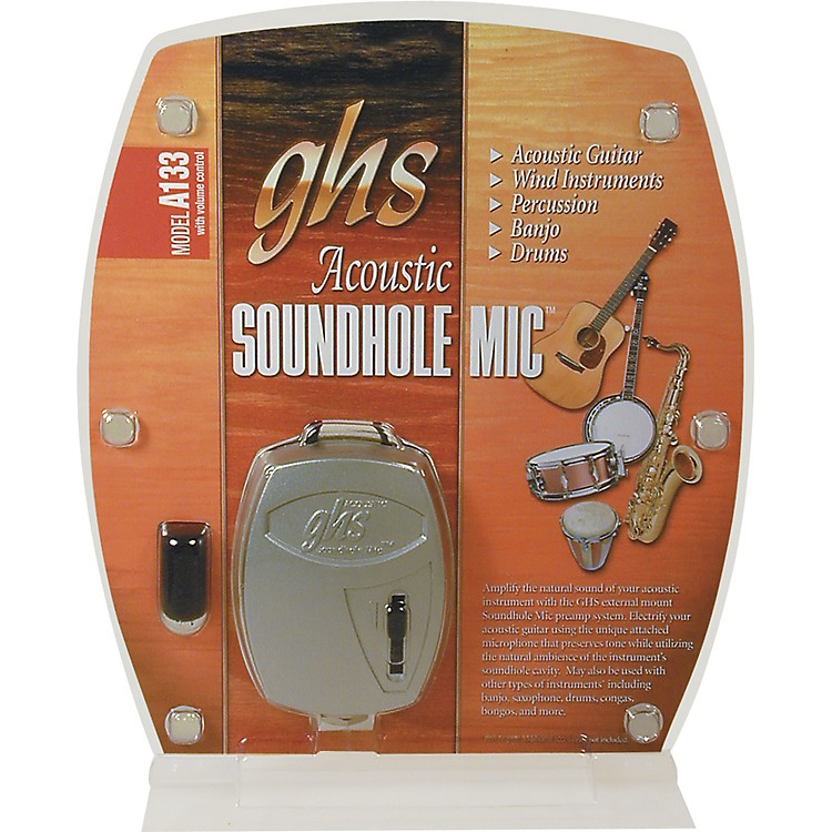 GHS Pro Acoustic Soundhole Microphone with Volume Control