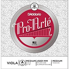 D'Addario Pro-Art Series Viola A String 15+ Medium Scale