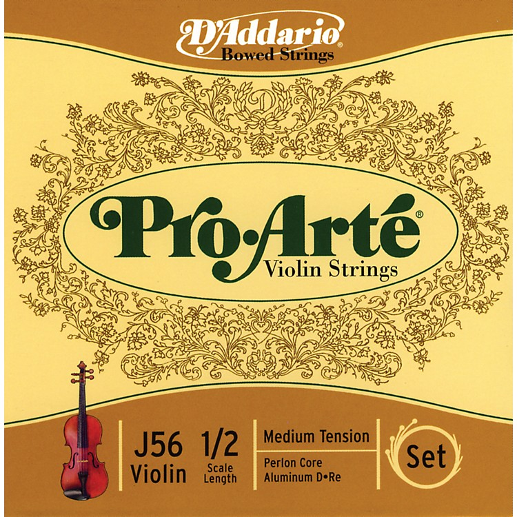 D'AddarioPro-Arte 1/2 Size Violin String Set