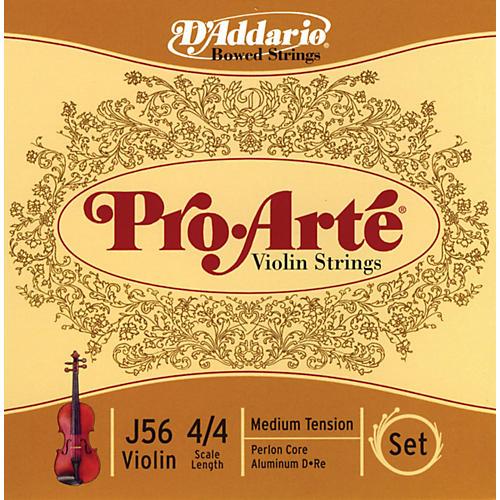 D'Addario Pro-Arte 4/4 Size Violin String Set
