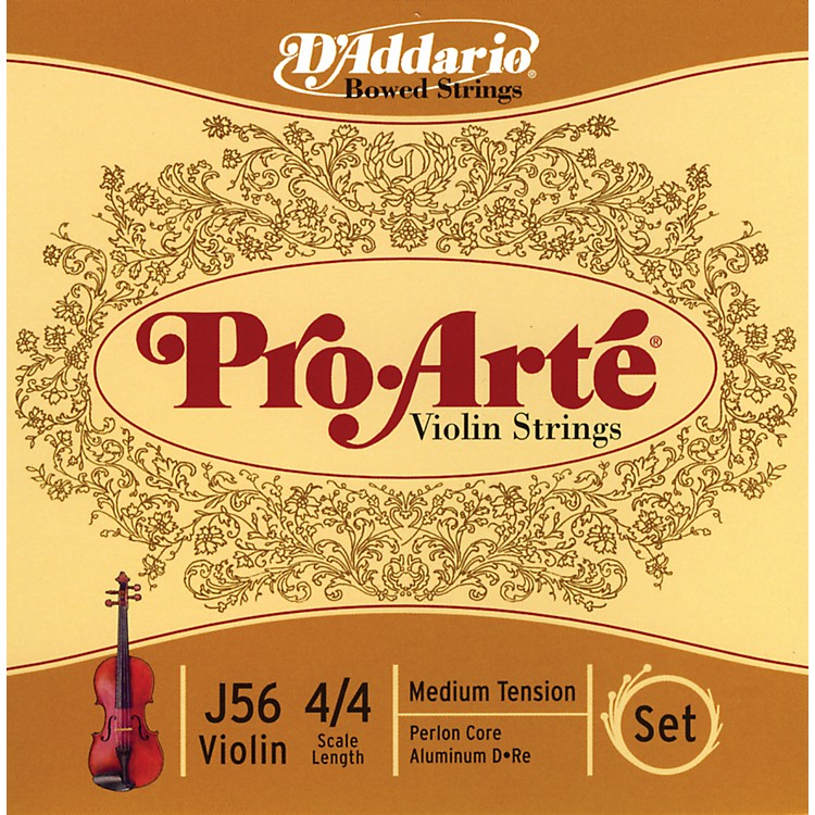 D'AddarioPro-Arte 4/4 Size Violin String Set