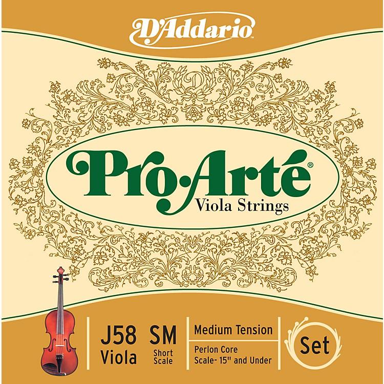 D'AddarioPro-Arte J58 Short Scale Viola String Set