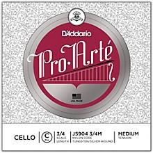 D'Addario Pro-Arte Series Cello C String 3/4 Size