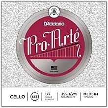 D'Addario Pro-Arte Series Cello String Set 1/2 Size
