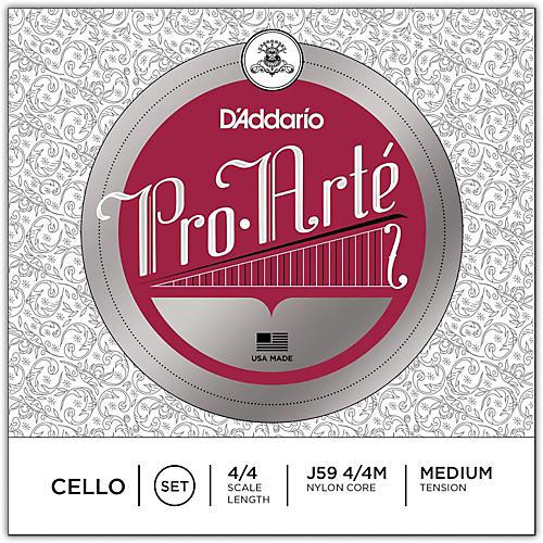 D'Addario Pro-Arte Series Cello String Set-thumbnail