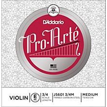 D'Addario Pro-Arte Series Violin E String 3/4 Size