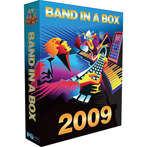 PG Music Pro Band-In-A-Box 2010 for Windows Software