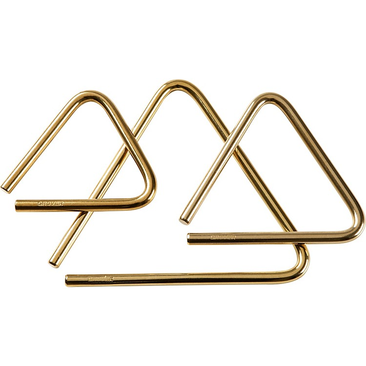 Grover ProPro Bronze Series Triangle6 Inch