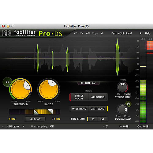 FabFilter Pro-DS Software Download | Musician's Friend