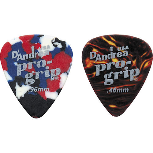D'Andrea Pro Grip Celluloid Picks One Dozen-thumbnail