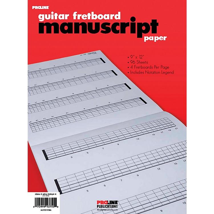 ProLinePro Line Fretboard Manuscript Paper