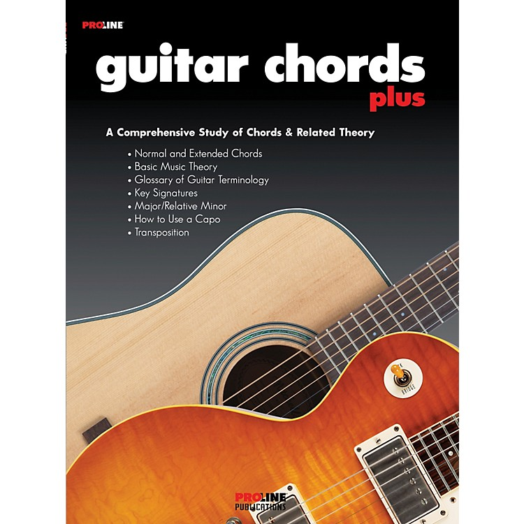 ProLine Pro Line Guitar Chords Plus Book