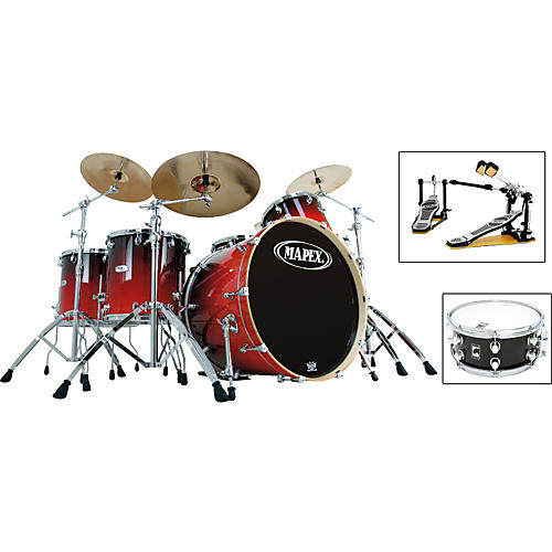 Mapex Pro M 5-Piece Rock Drum Set with Free Snare
