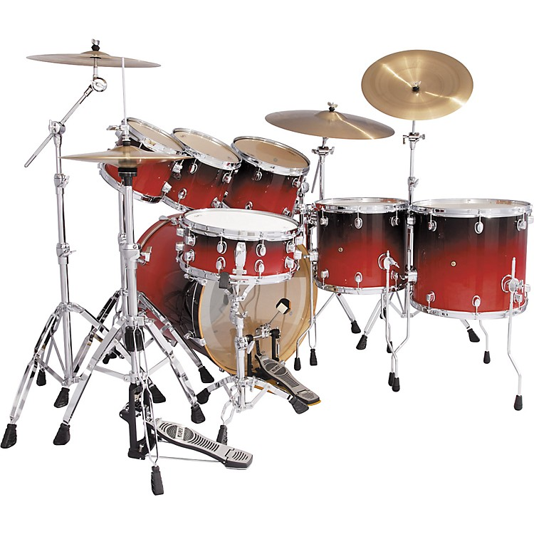 Mapex Pro M 7-Piece Fusion Pop Drum Set
