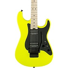 Pro Mod So Cal Style 1 2H FR Electric Guitar Neon Yellow