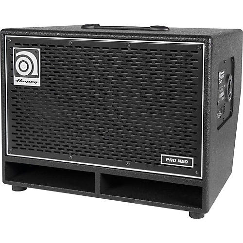Ampeg Pro Neo Series PN-210HLF 550W 2x10 Bass Speaker Cabinet Black