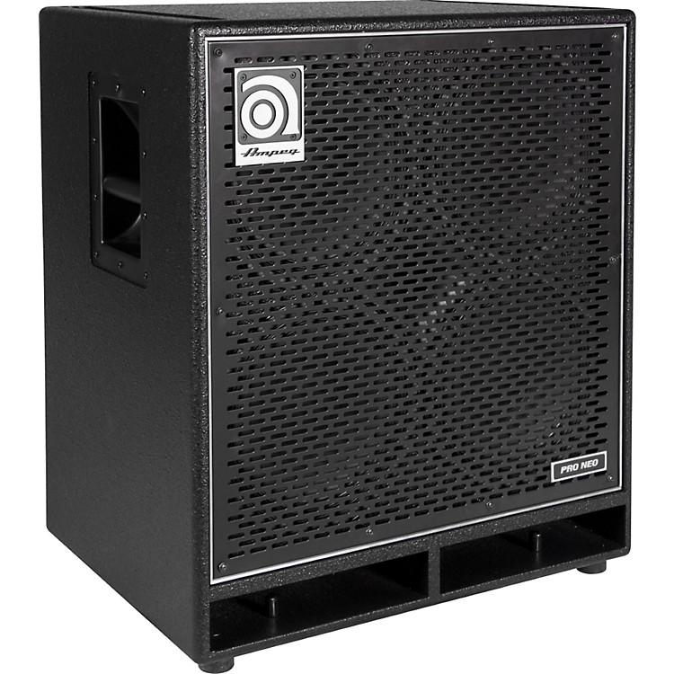 AmpegPro Neo Series PN-410HLF 850W 4x10 Bass Speaker CabinetBlack
