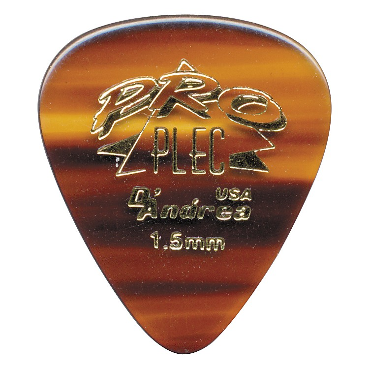 D'Andrea Pro Plec Standard 351 Guitar Picks One Dozen Shell 1.5MM