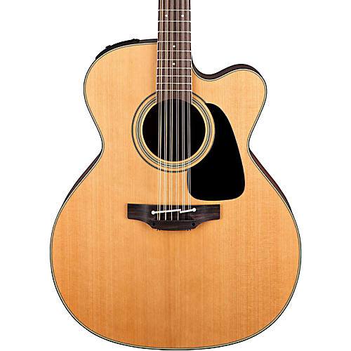 Takamine Pro Series 1 Jumbo Cutaway 12-String Acoustic Electric Guitar Natural